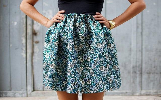 Модная тенденция 2013: юбка-колокол