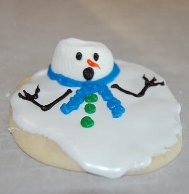 """Печенье """"Растаявшие снеговики"""""""