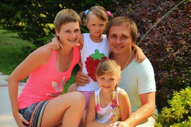 Вся наша семья на отдыхе в Кемере