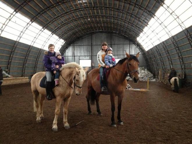 Мы на конной прогулке