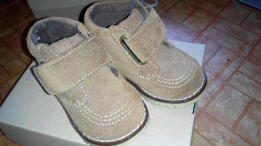 Ботиночки финские Geraf 22р, не носили вроде