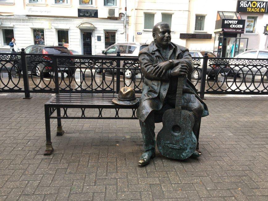 Автор: Фея Симона , Фотозал: Мужики, Михаил Круг. Памятник в Твери.