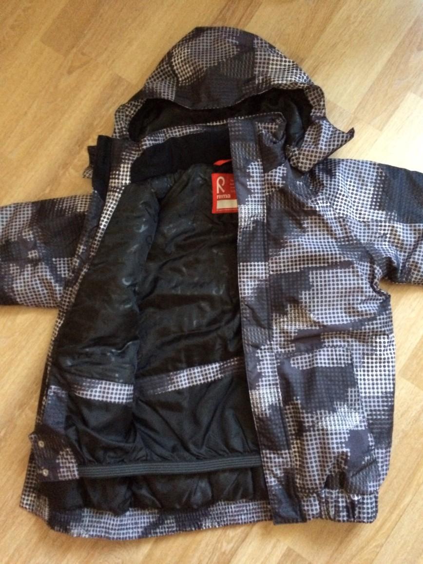 Новая зимняя Куртка рейма тек, без этикеток, большемерка. 3900р.