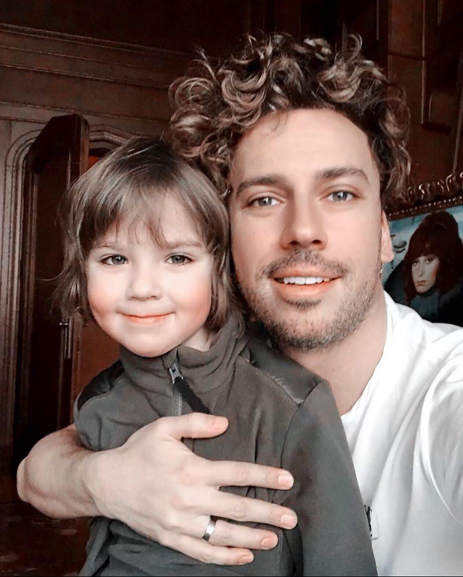 Гарри Галкин с отцом Максимом Галкиным