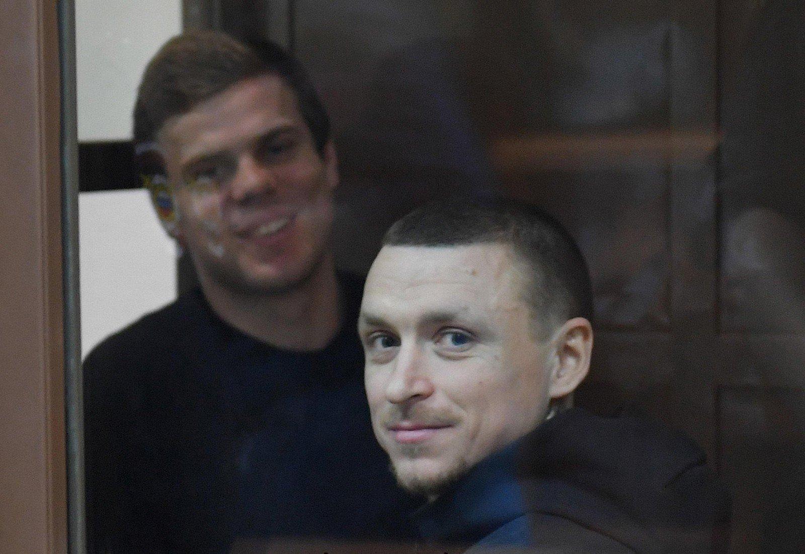 Футболисты Александр Кокорин и Павел Мамаев выйдут на свободу досрочно