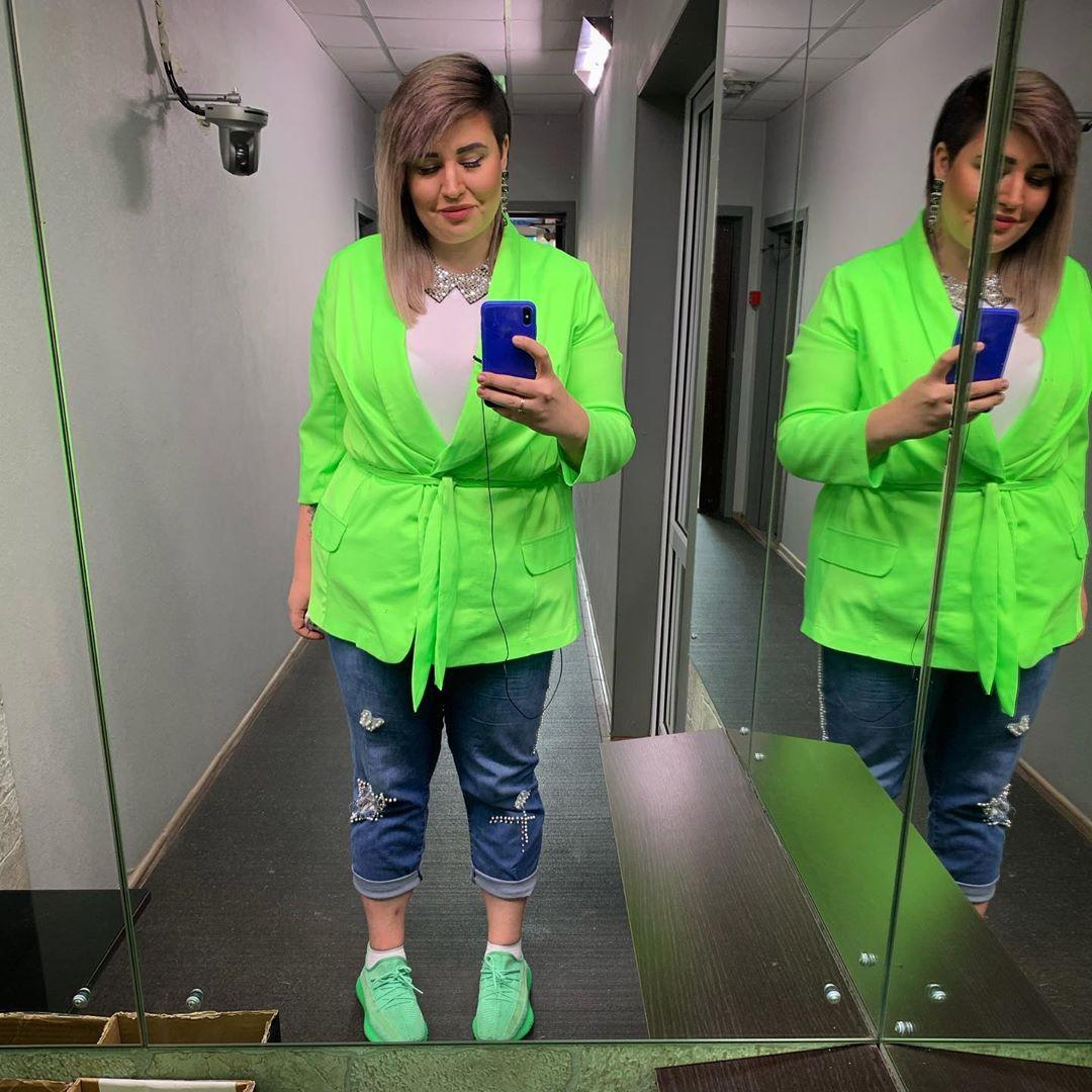 Саша Черно похвасталась результатами похудения
