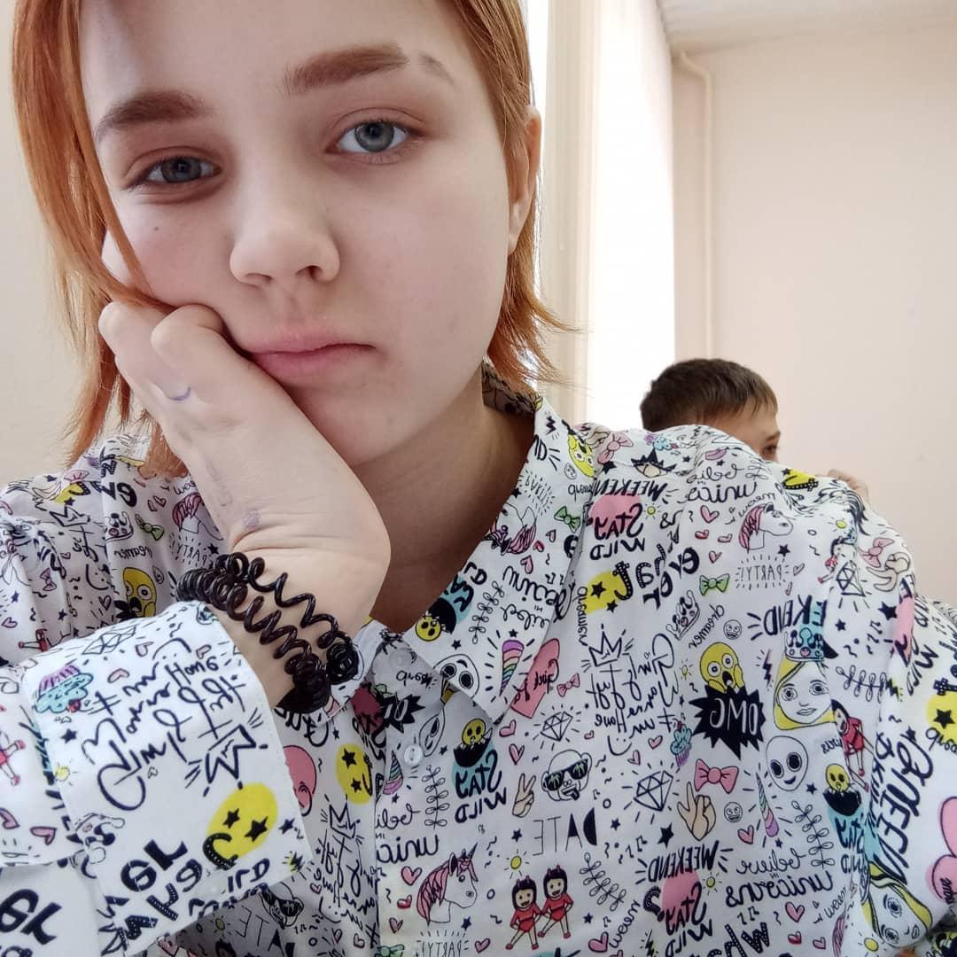 Беременная от четвероклассника школьница стала звездой социальной сети
