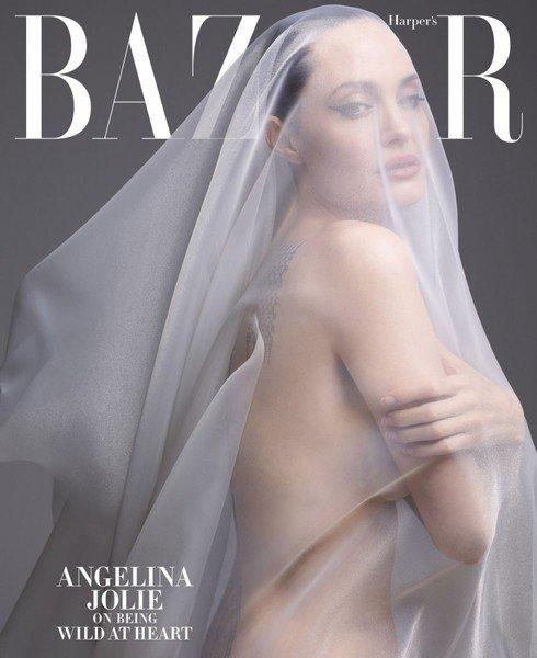 Я снова обрела себя: Анджелина Джоли обнажилась для обложки журнала