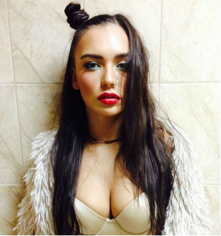 Ольга Серябкина в образе Holly Molly