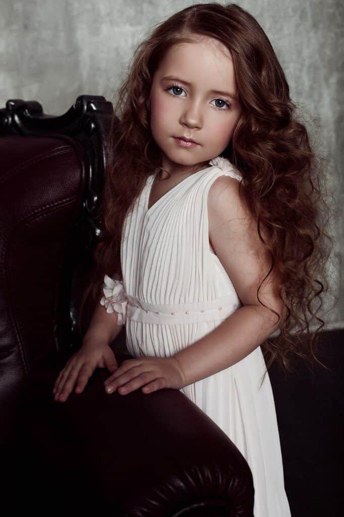 Анастасия МАкеева в детстве
