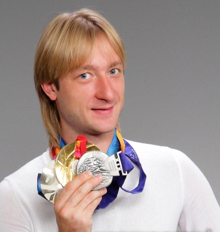 Спортивные достижения Евгения плющенко