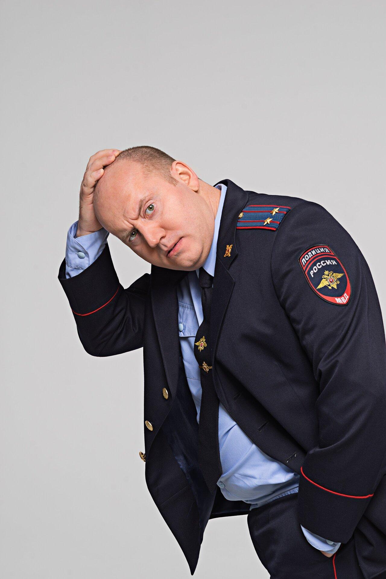Сергей Бурунов в образе Майора Измайлова
