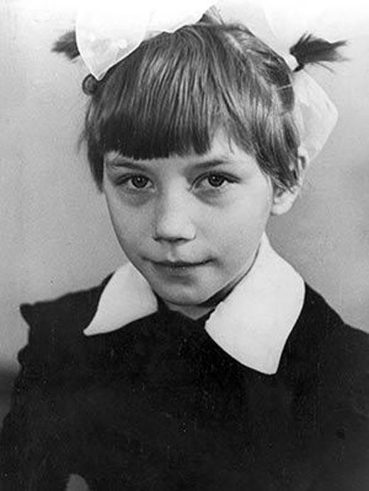 Роза Сябитова в детстве
