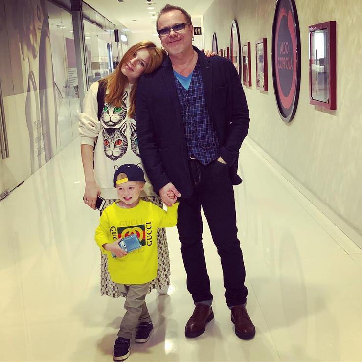 Наталья Подольская с мужем и сыном