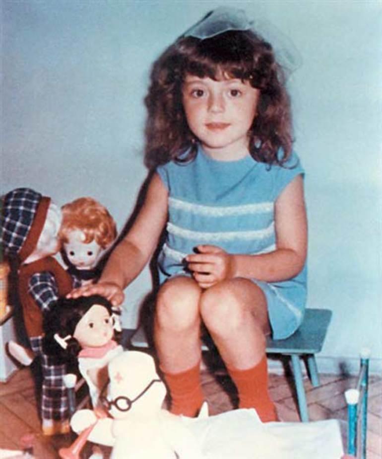 Анжелики Варум в детстве
