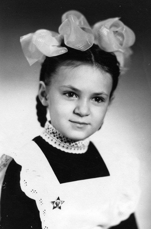 Яна Рудковская в детстве