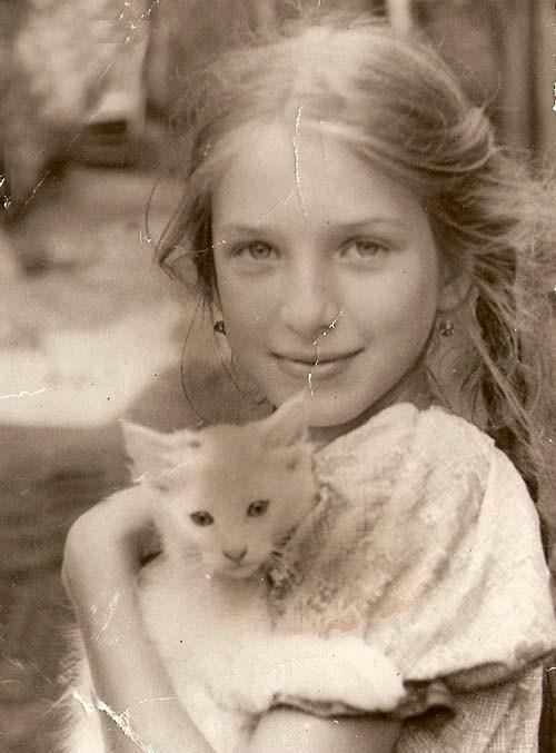 Ирина Гринева в детстве