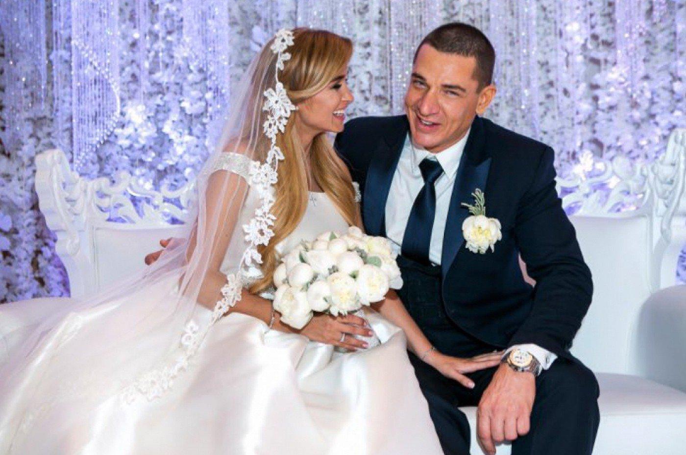 Ксения Бородина на свадьбе
