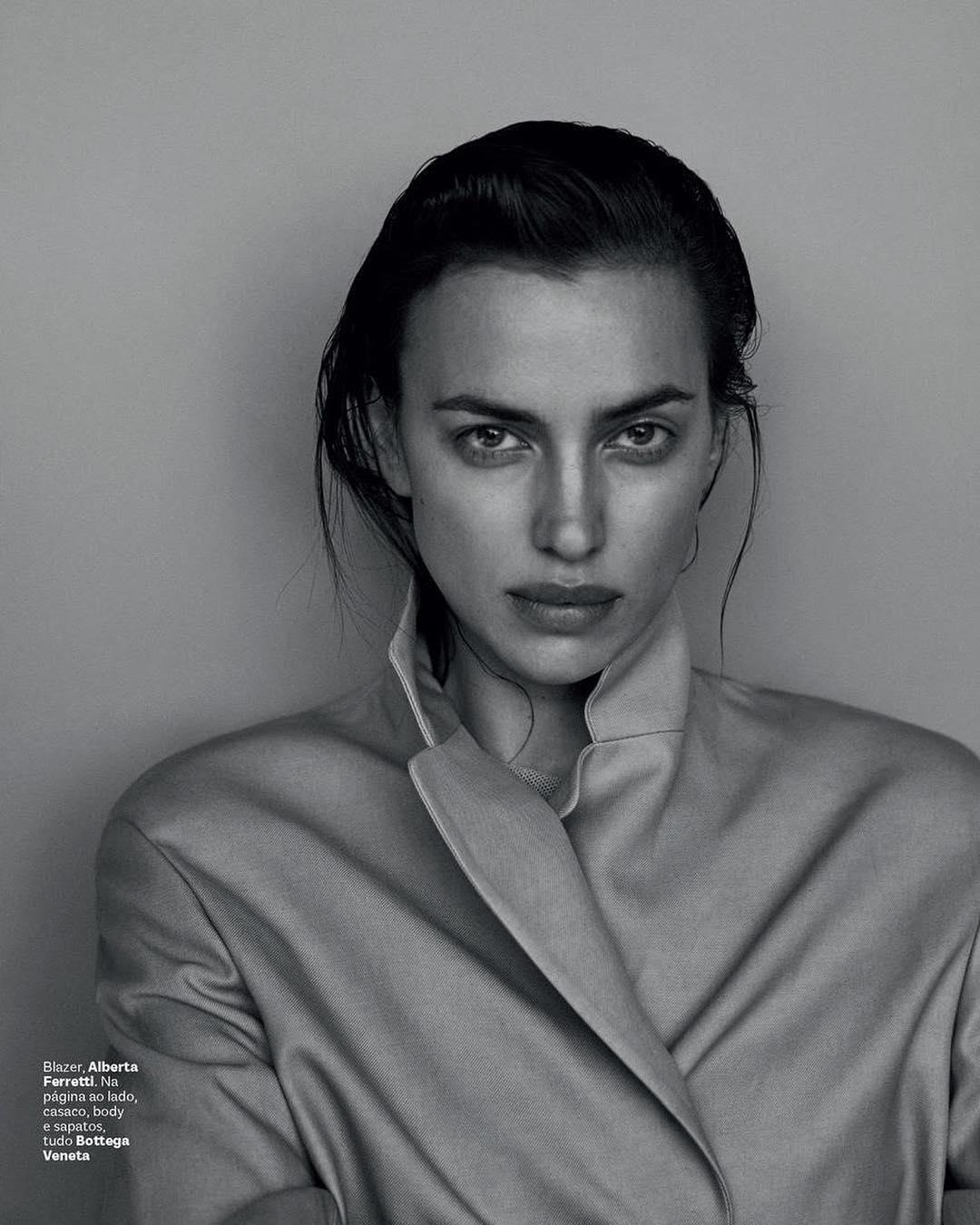 Ирина Шейк на фотосессии Бразильского Vogue