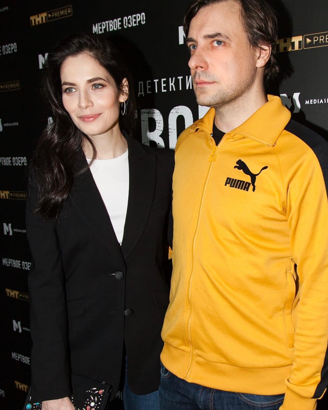 Юлия Снигирь с Евгением Цыгановым