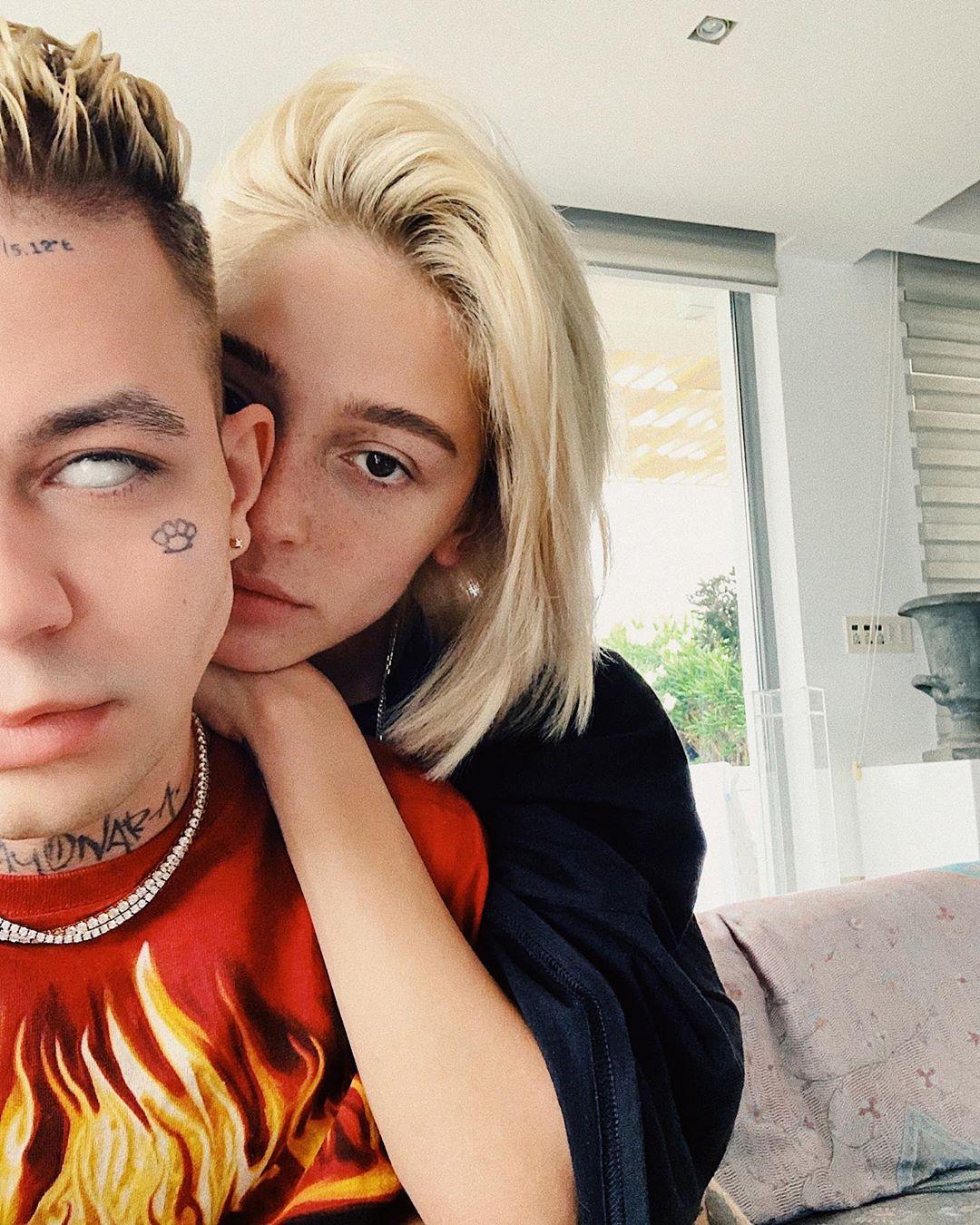 Элджей с женой Настей Ивлеевой