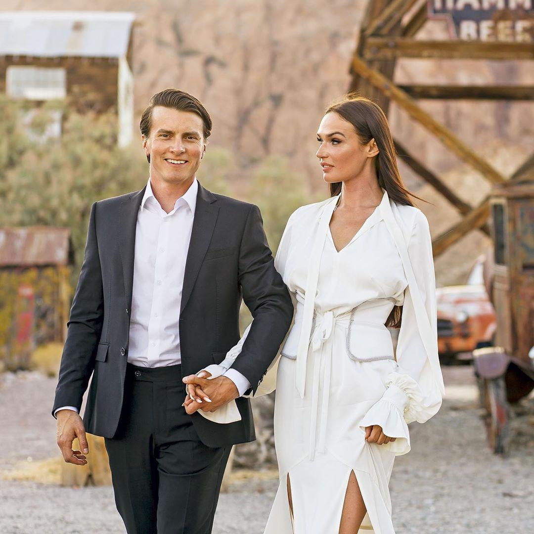 Алена Водонаева и бывший муж Алексей Комов