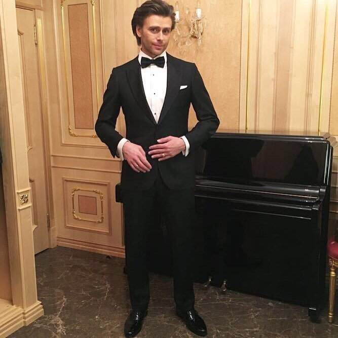 Петр Чернышев на светском вечере