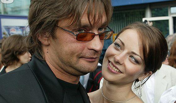 Александр Домогаров с Мариной Александровой