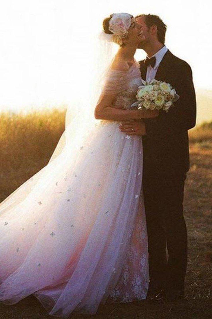 Свадебное фото Энн и Адама