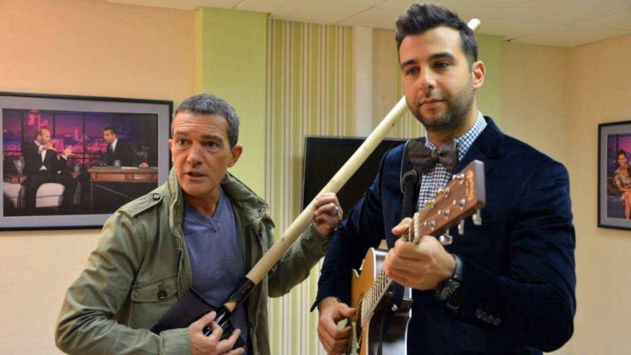 Антонио Бандерас на программе «Вечерний Ургант»