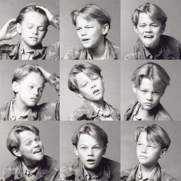 Леонардо ДиКаприо в детстве