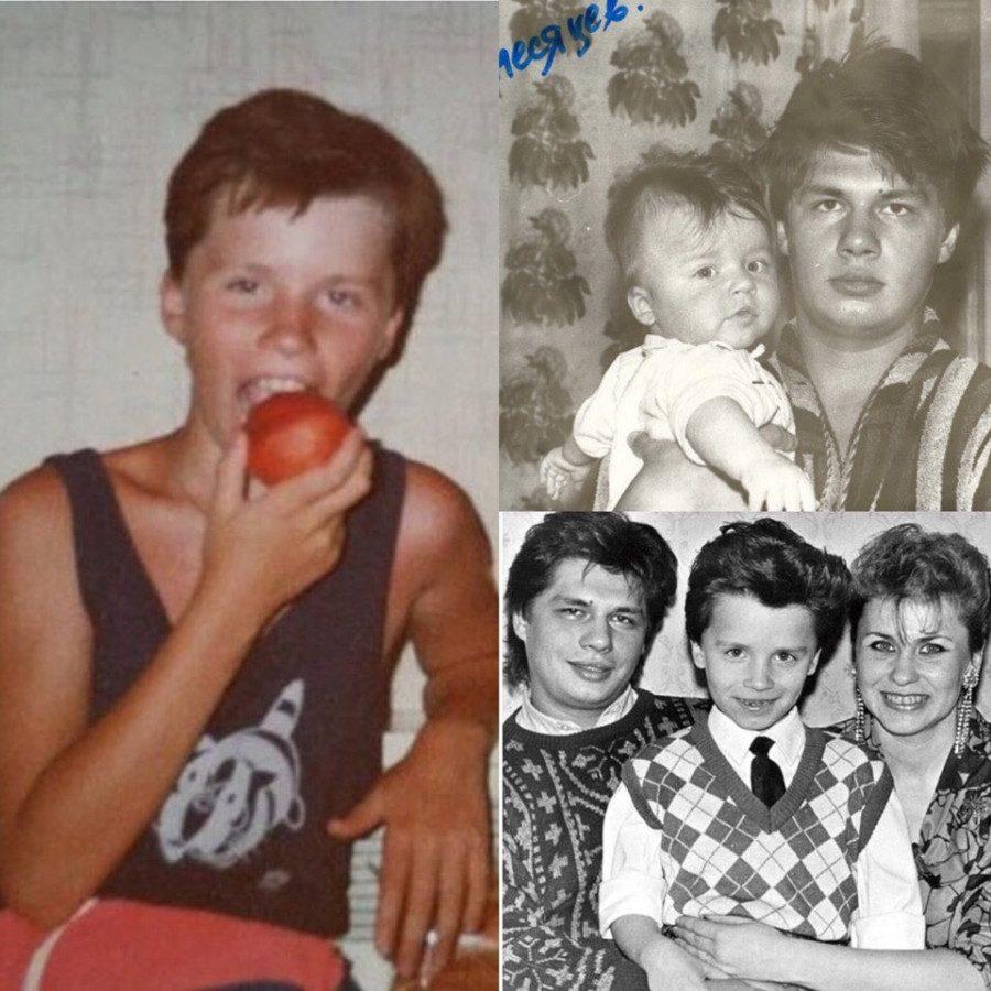 Игорь Юрьевич Харламов в детстве и юности