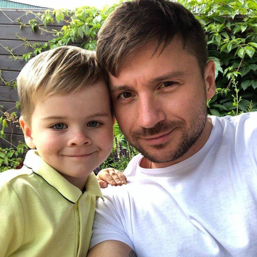 Сергей с сыном Никитой