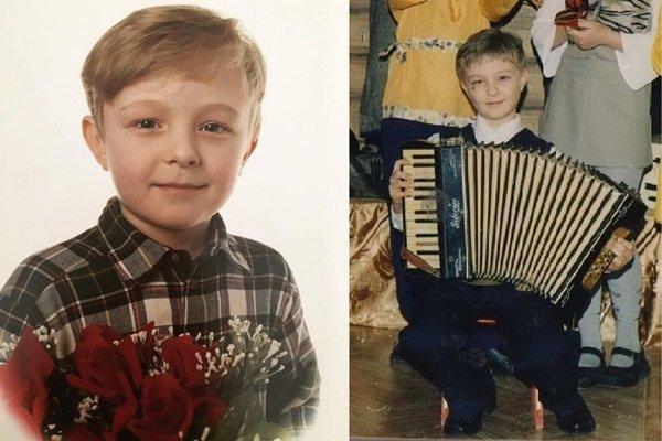 Егор Николаевич Булаткин в детстве