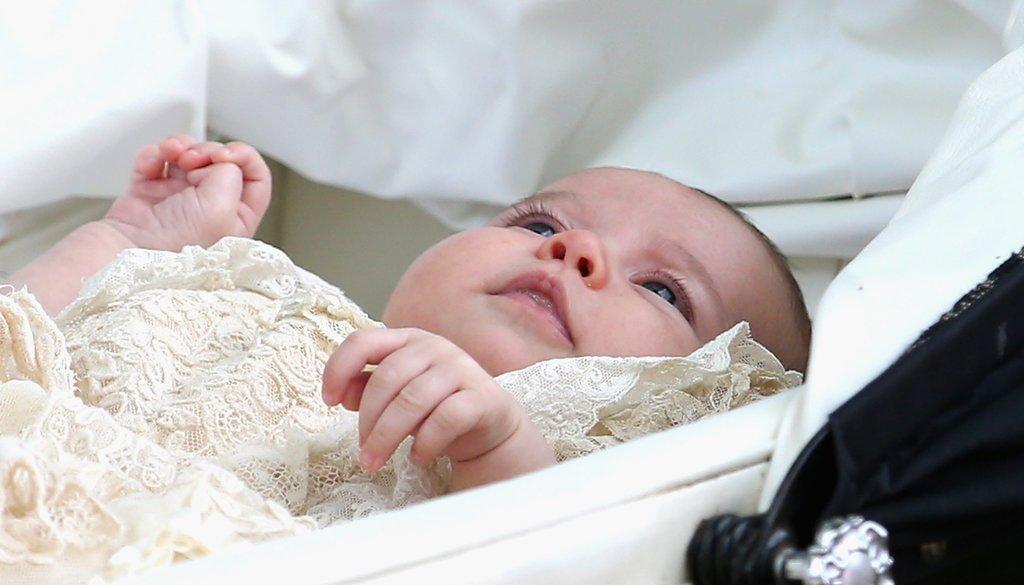 Фото со дня крестин принцессы Шарлотты