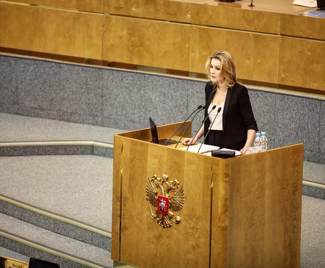 Мария Кожевникова - депутат Государственной Думы