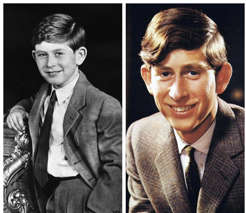 Принц Чарльз в детстве и юности