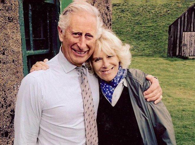 Принц Чарльз с любимой Камиллой