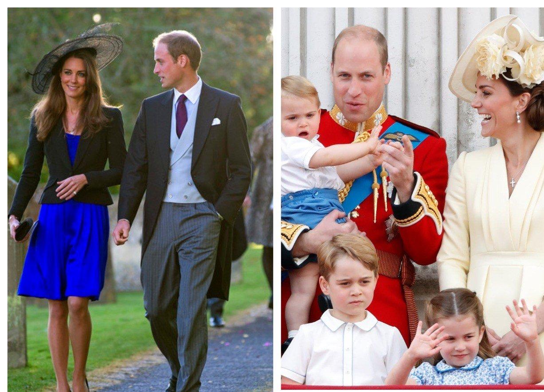 Кейт Миддлтон с принцем Уильямом и детьми