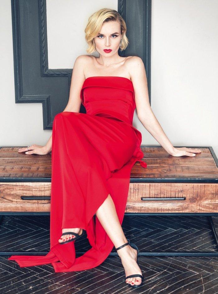 Полина Гагарина на страницах журнала