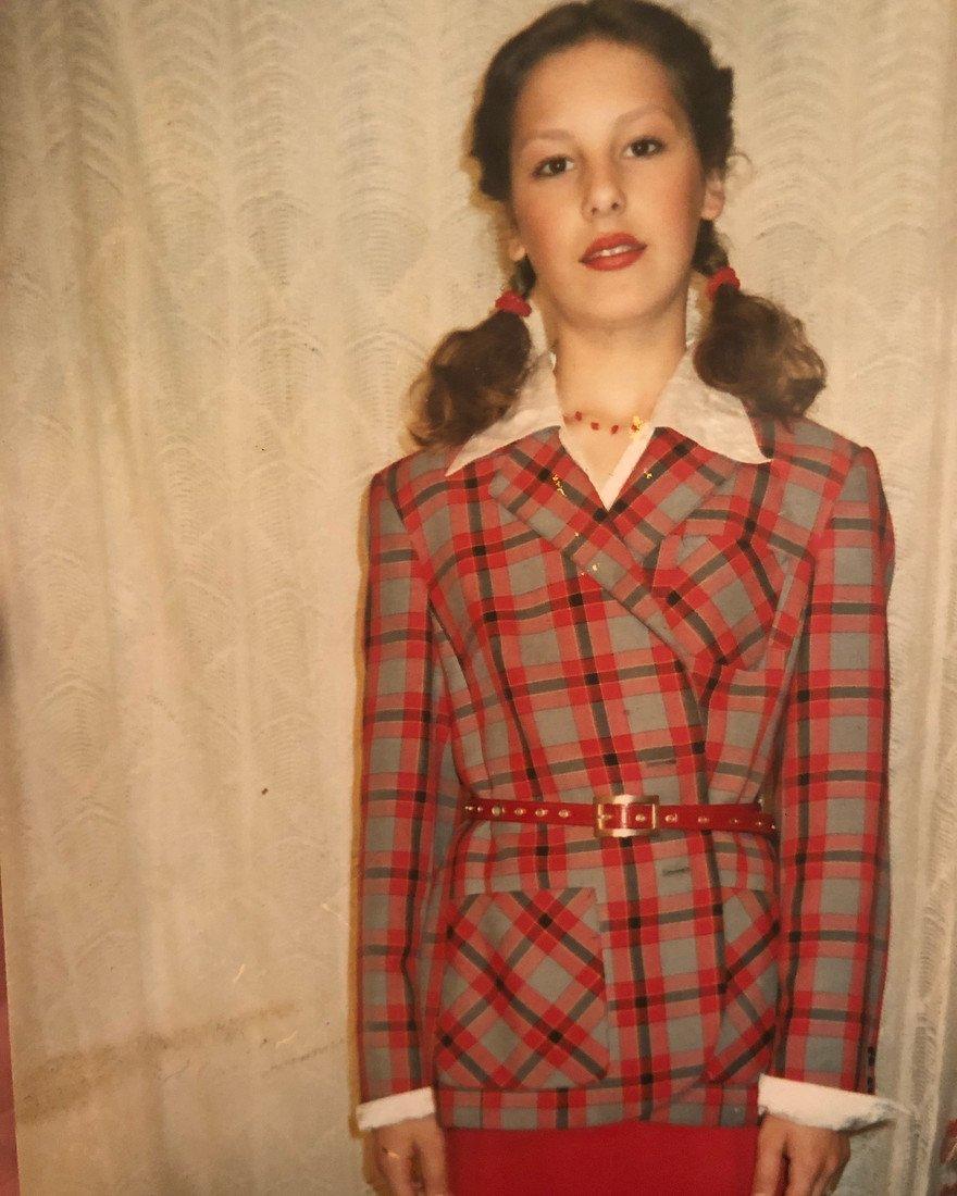 Ирина Горбачева в юности