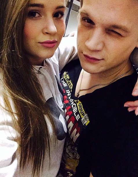 Полина Гренц и Артур Сопельник