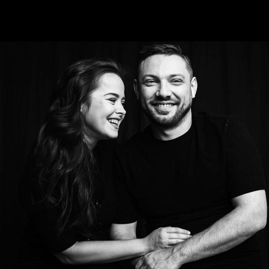 Наталия с мужем
