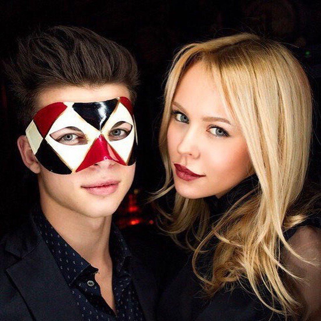 Филипп со своей девушкой Анной