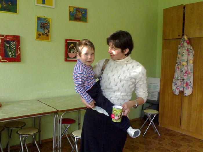 18.09.09г. Теперь Руська с мамой