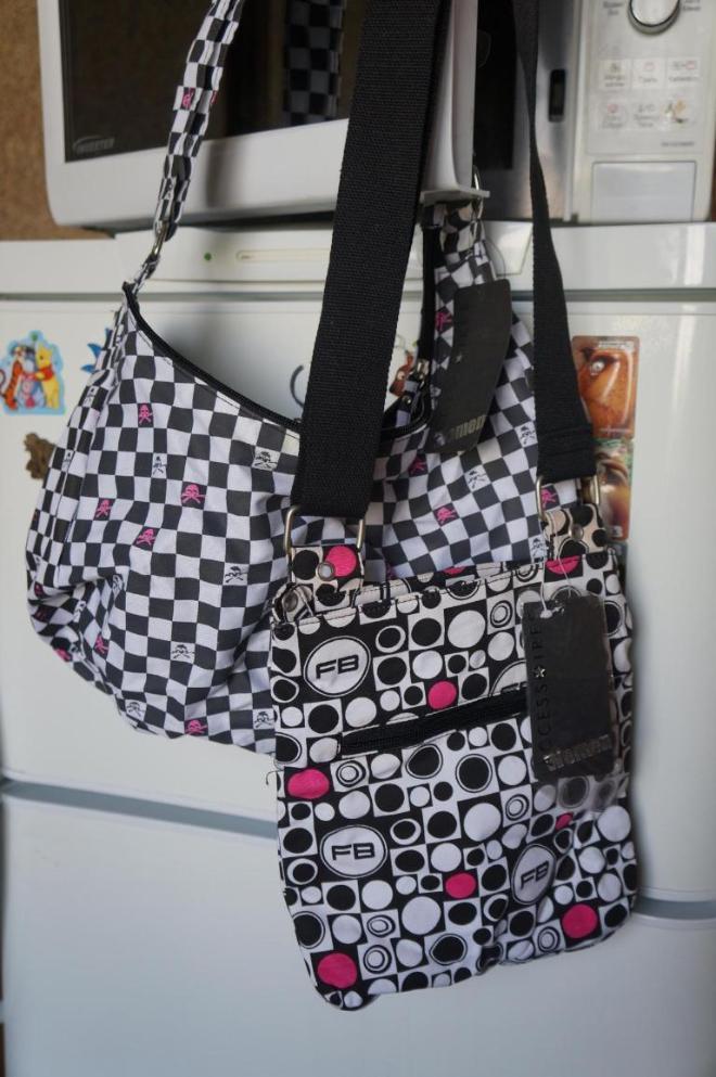 2 новые сумки, привезены из Чехии, бирки на месте, можно на подарок.