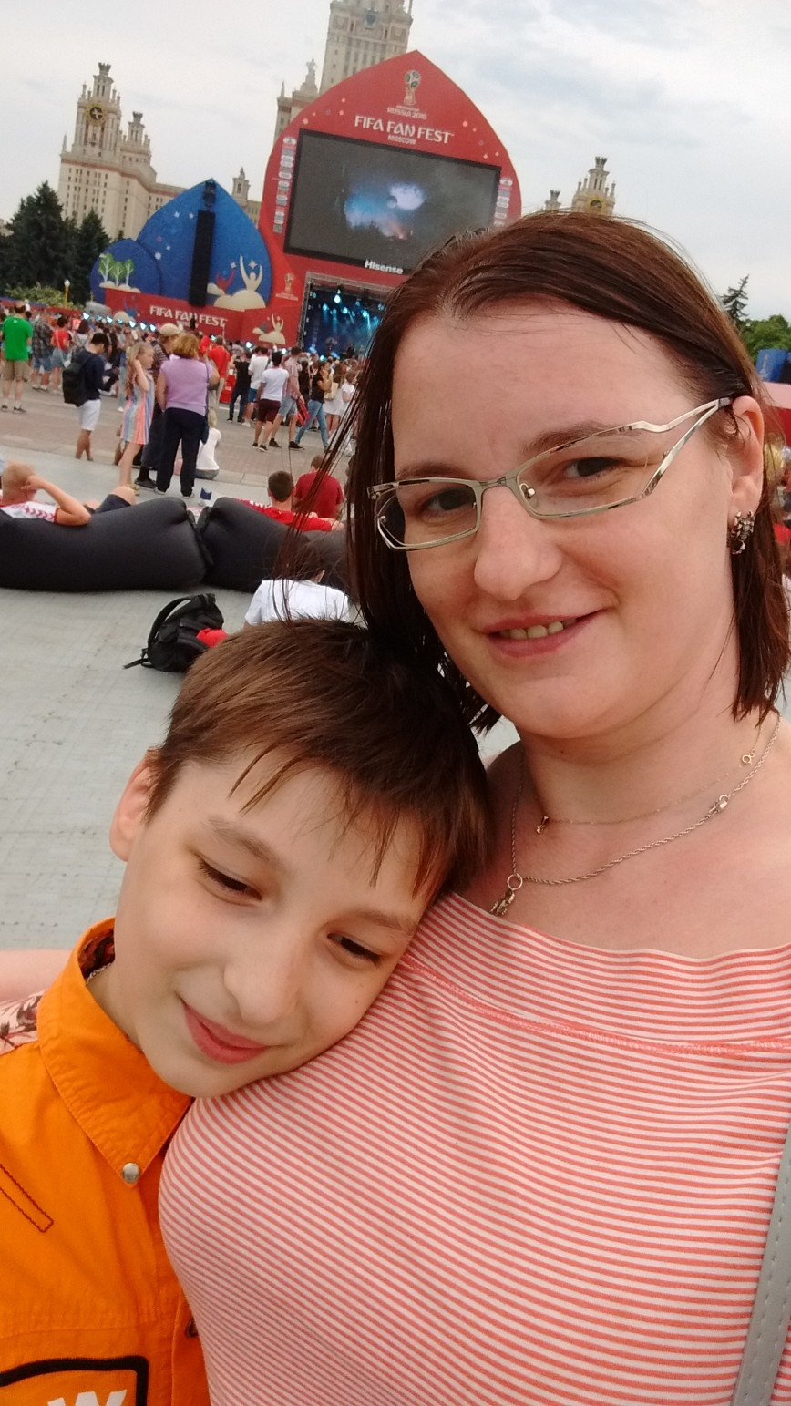 Автор: Eseniya, Фотозал: Моя семья, Я и мой сыночек Стасенька