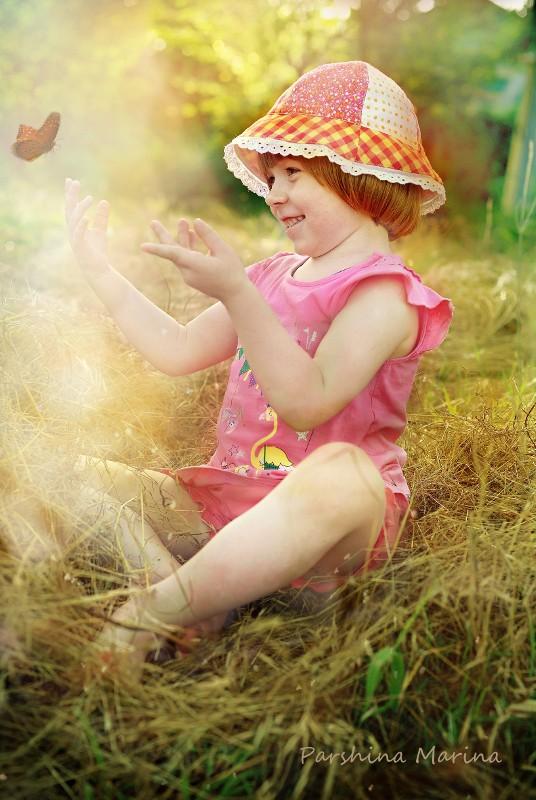 Автор: П&чёлка, Фотозал: Наши Дети, Дочка Ева