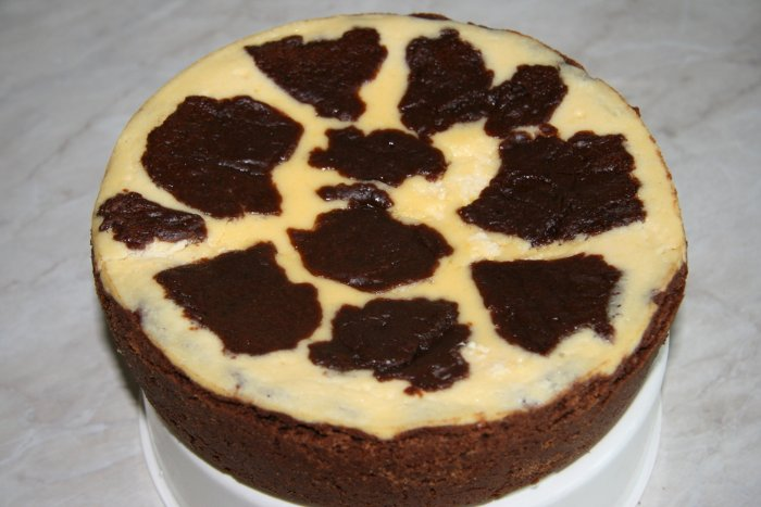 Пирог буренка рецепт с фото