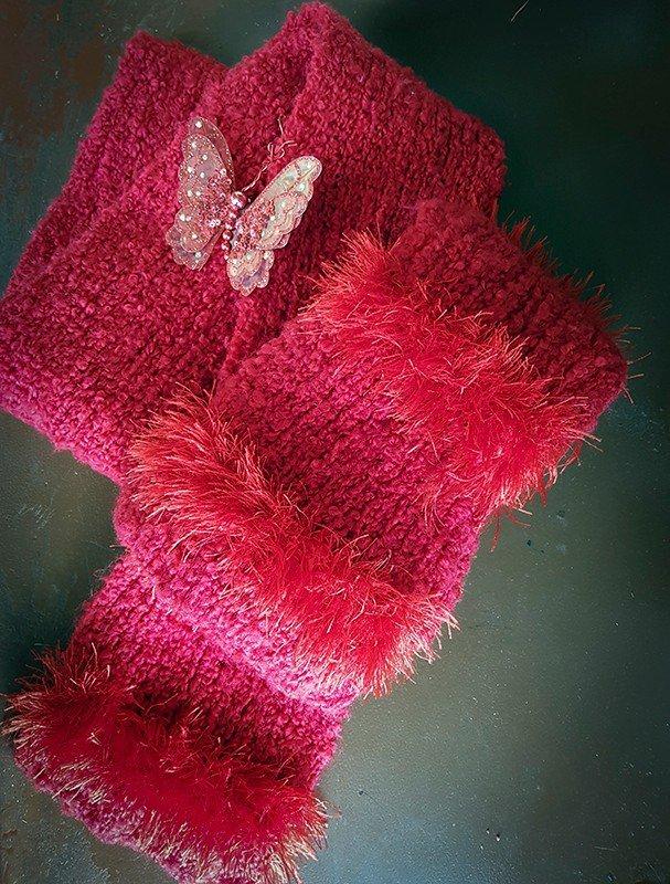 Автор: xPANTERAx, Фотозал: Мое хобби, Длинный красный шарф